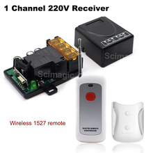 433MHz Universal Wireless AC 220V 1Channel RF Switch Receiver Module & 433MHz Transmitter Learning Code remote control best price 8 key remote control remote control switch home light switch smart control learning code 315 433mhz