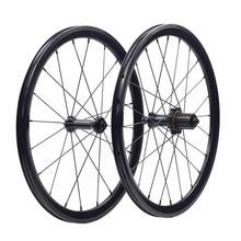"""Silverock 20 """"1 1/8"""" 451 406 alaşım Minivelo tekerlekler XR270 74 100 130mm jant V fren katlanır yaslanmış bisiklet Mini velo tekerlek"""
