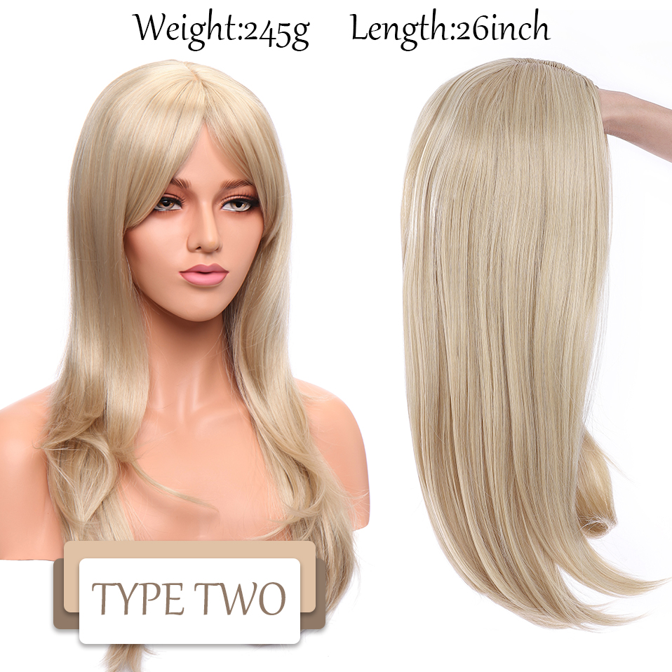 Perucas sintéticas onduladas snoilite do cabelo com