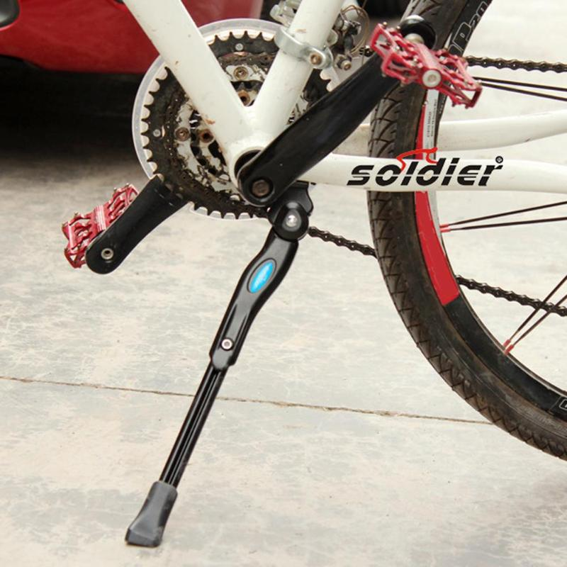 MTB Mountain Bicycle Bike Stand Rack Kickstand Parking Racks Bike Support Side Stand Foot Step Brace for Bicycle Parts New 2019 Bicycle Rack     - title=