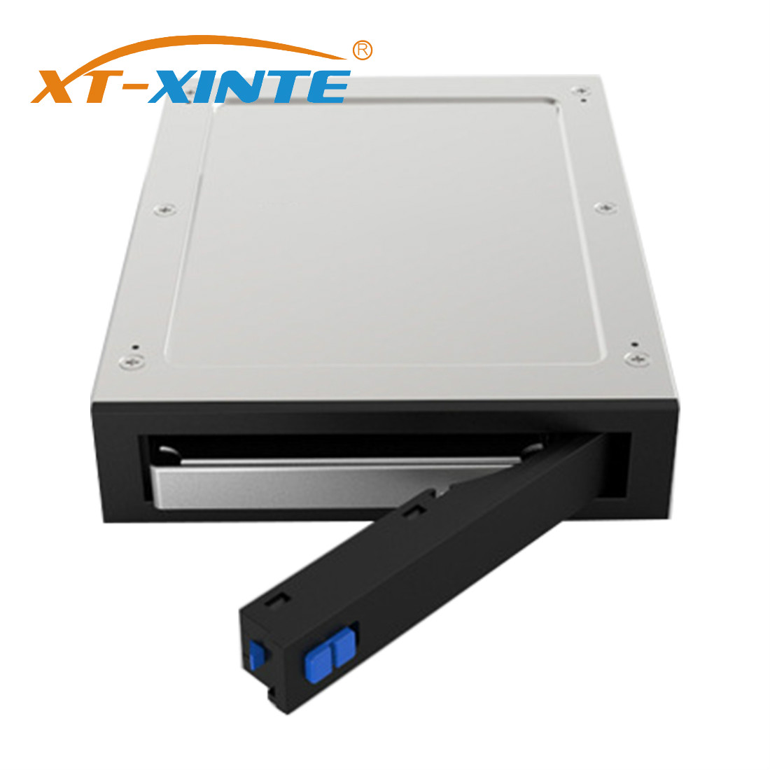XT-XINTE Hard Drive Enclosure 2.5 Inch Internal Floppy Bay SATA III Tray-Less Mobile Rack For 3TB 7~12.5mm 2.5