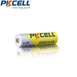 Image 3 - 10 PCS 2A PKCELL AA 2600 ~ 2800 mah baterias recarregáveis 1.2 v ni mh para lanterna brinquedo câmera de alta capacidade