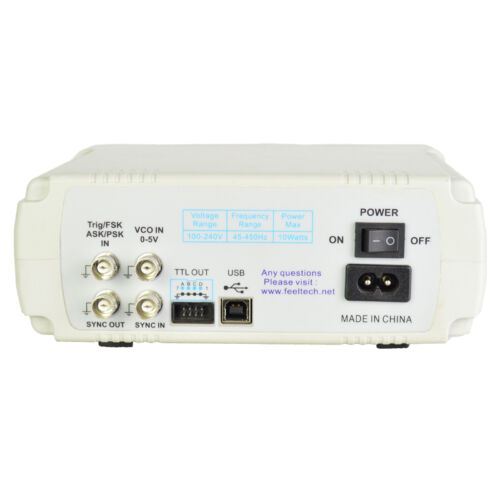 30MHz FeelTech FY6600 DDS Function Arbitrary Waveform Signal Generator VCO