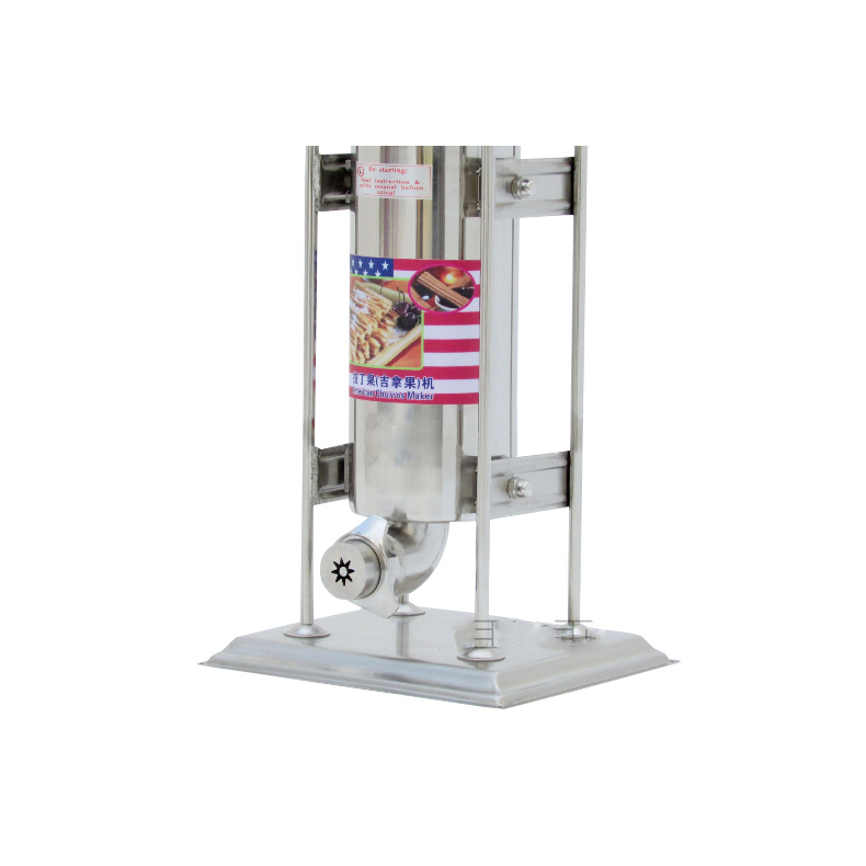 H1ead7932558f45328427ee07d746c846u - Selling7L Latin fruit filler Churros Filling equipment Electric Churros making machine Commercial stainless steel movable maker