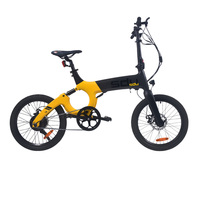 20inch electric city bicycle 36V250w motor Hidden lithium battery commuting leisure travel electric assist bicycle smart ebike