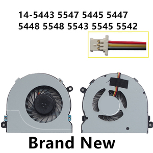 New CPU Laptop Cooling Fan Para DELL 14-5443 5547 5445 5447 5448 5548 5543 5545 5542 Notebook Cooler radiador