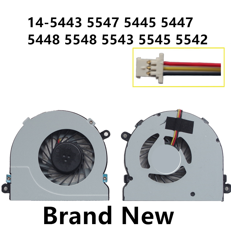 New Laptop CPU Cooling Fan For DELL 14-5443 5547 5445 5447 5448 5548 5543 5545 5542 Notebook Cooler Radiator