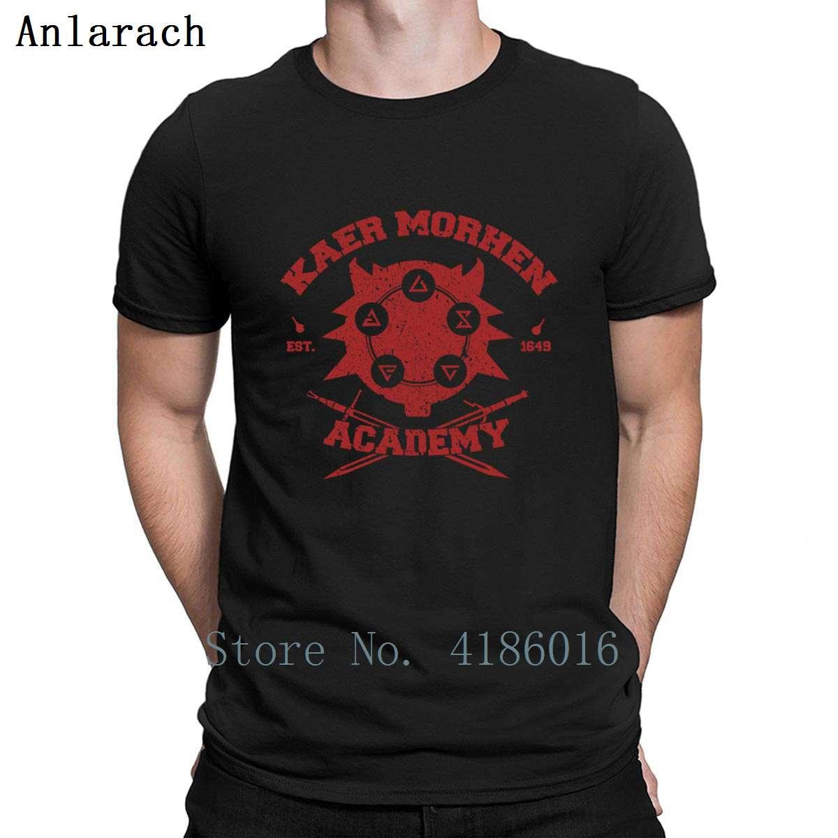 Kaer Morhen Of The School Academy T Shirt Slim Spring Autumn Fitness Authentic Designs Cotton Unisex S-XXXXXL Shirt