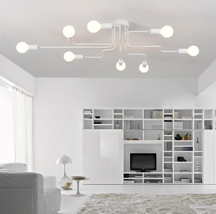 para sala estar quarto vintage iluminação interior