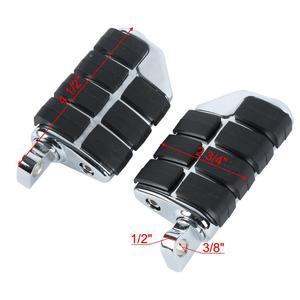 Image 5 - Motorcycle Universal 32mm Adjustable Highway Footrest For Honda Kawasaki Suzuki Yamaha Harley