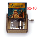 Деревянный Анастасия музыкальная шкатулка музыкальная тема однажды в декабрьский день рождения подарок для детей, подарок на День святого ...