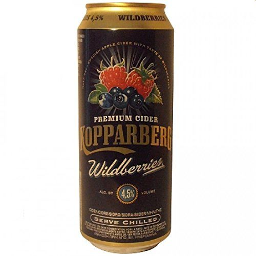 Kopparberg Cider Wildbeere 0,50l Dose 4,5%
