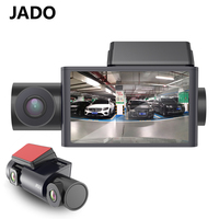 JADO D350S driving recorder Front and rear 1080P night vision HD three record wifi connection 360 °panorama 24 hours monitoring