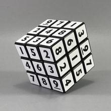Neo sihirli Sudoku dijital küp 3x3x3 profesyonel hız küpler bulmacalar Speedcube çocuk yetişkinler için eğitici oyuncaklar çocuklar hediyeler