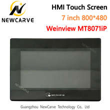 7 Inch 800*480 USB Ethernet HMI Touch Screen WEINVIEW/WEINTEK MT8071iP New Human Machine Interface Replace MT8070IH5 NEWCARVE