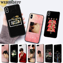 WEBBEDEPP Harry Styles Behandeln Menschen Silicone soft Case for iPhone 5 SE 5S 6 6S Plus 7 8 11 Pro X XS Max XR