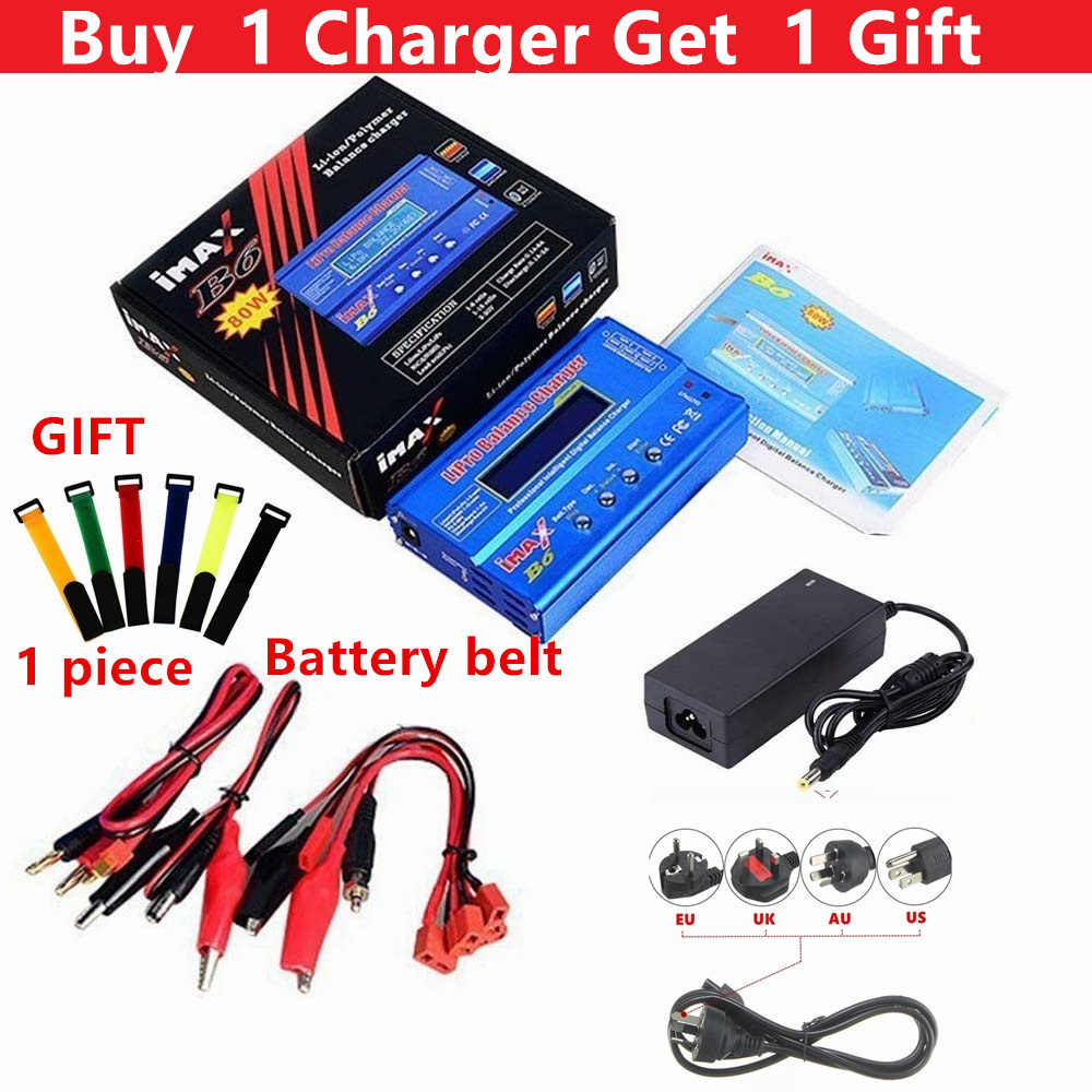IMAX B6 Digital RC Lipo NiMh Battery Balance Charger AC POWER 12V 5A Adaptor Drop Pengiriman Gratis