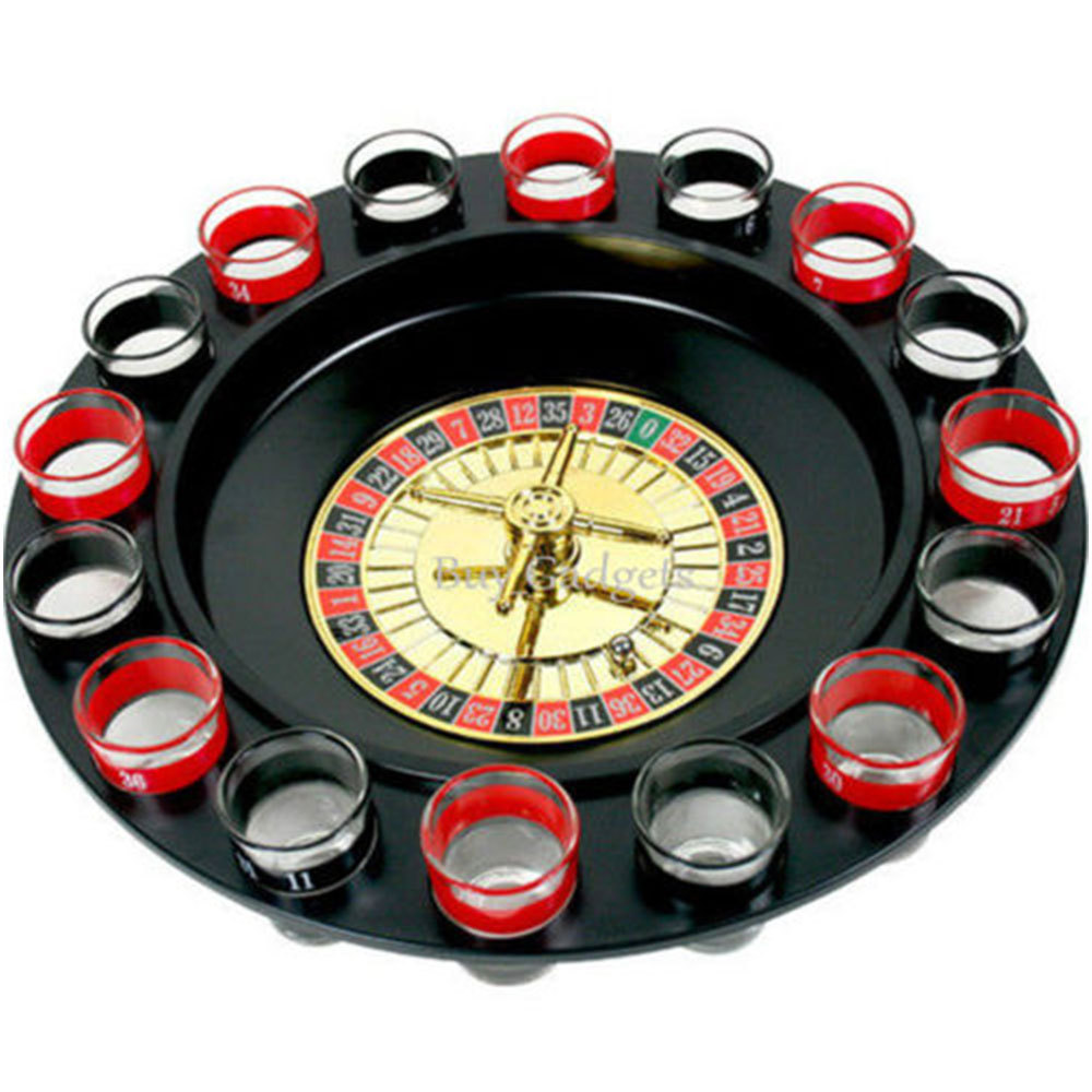 Drinking Roulette Game Party Set Toy Spin Shot Stag Hen Game Glass Games Adult Drinking Toy Bar KTV Party Drinking Glass Toy