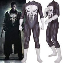 The Punisher Frank Castle Adult Kids Cosplay Costume Zentai Bodysuit Suit Jumpsuits Halloween