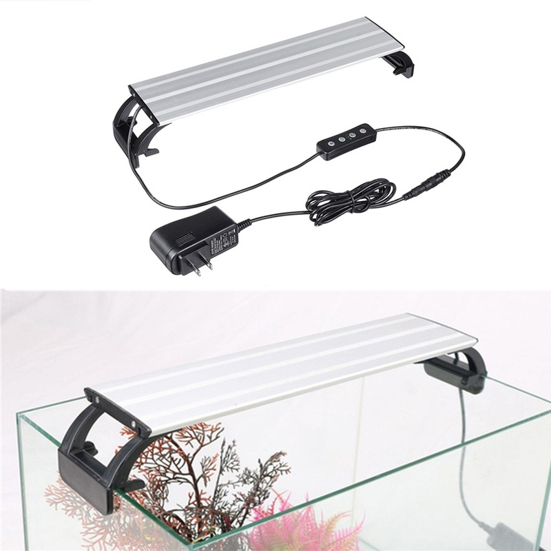 Image 5 - Aquarium Light LED Lighting 20 65CM Fish Tank Lamp Aquatic Plant Lights Fishing Led RGB Indoor Decoration With Timer and DimmingLED Grow Lights   -