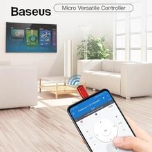 Baseus R03 микро Джек Смарт ИК пульт дистанционного управления универсальный пульт дистанционного управления для ТВ/кондиционера/проекторов для Xiaomi huawei Phone