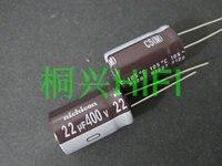 20 pces nova nichicon cs 400v22uf 12.5x20mm capacitor eletrolítico 400 v 22 uf alta frequência longa vida 22 uf/400 v cs 22 uf 400 v|Chips para amplificador operacional|   -