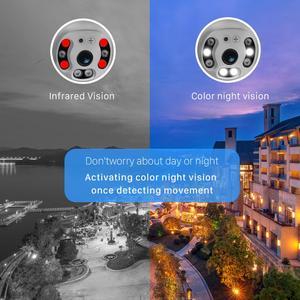 Image 4 - BESDER 1080P FHD H.265 Waterproof WiFi Camera Motion Voice Alert Dual Antenna IP Camera Audio IR Night Vision CCTV Surveillance