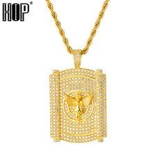 Молитвенный Ангел золотое ожерелье и кулон теннисная цепочка