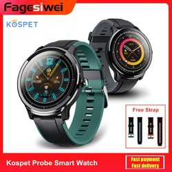 Kospet sonda inteligentny zegarek 1.3 cal sport Monitor aktywności fizycznej w zegarku Monitor zdrowia Smartwatch Bluetooth wsparcie Android,IOS