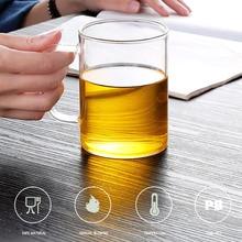 Высокая боросиликатная стеклянная кружка для воды пива креативная столовая прозрачная чайная чашка барные напитки молоко Термоизолированный контейнер