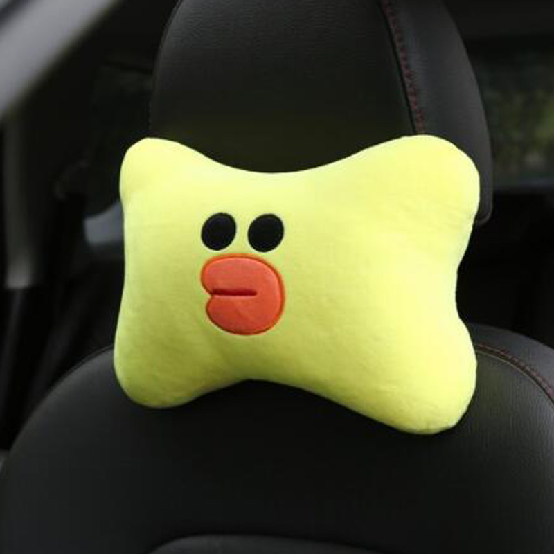 Cushion Headrest Support 1pcs Auto Car Neck Pillows Accessories 27x20cm