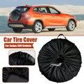 S/L универсальный автомобильный чехол для внедорожника  чехол для запасного колеса  сумка из полиэстера  запасная крышка для хранения шин дл...