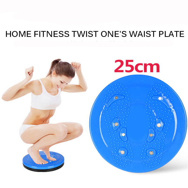 Yoga Sport Fitness Balance Board Wobble Waist Twisting Fitness Body Exercise Rotating Sports Magnetic Massage Plate Twist Boards