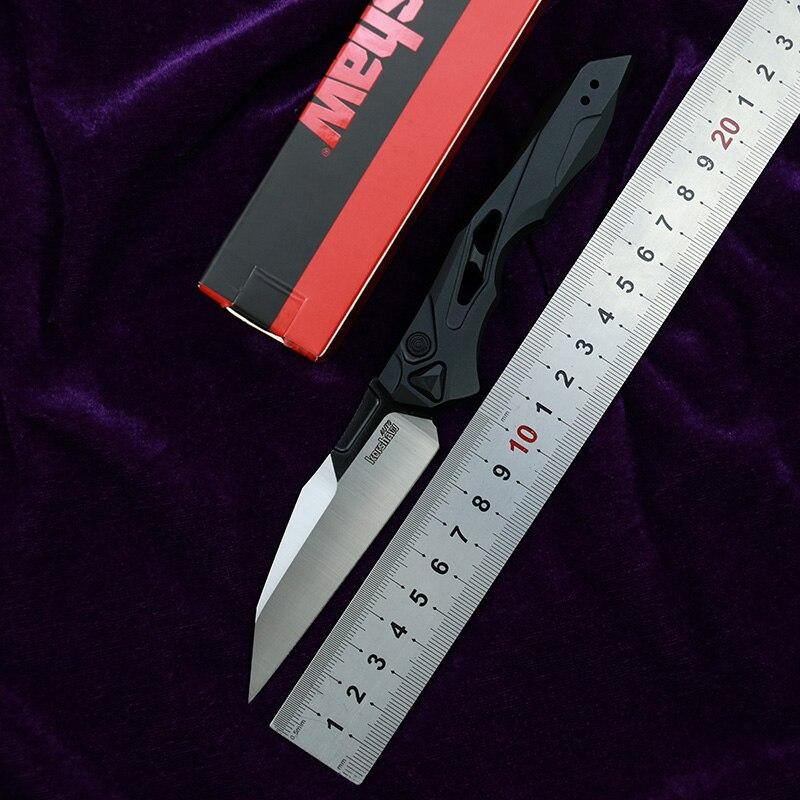 Новые Кершоу 7650 Старт 13 складной нож CPM-154 лезвие зажим алюминий Фруктовый нож с ручкой на открытом воздухе Охота, EDC, инструмент для кемпинга