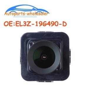 Image 1 - רכב EL3Z 19G490 D EL3Z19G490D EB3T 19G490 BB עבור 2011 2012 2013 2014 פורד F 150 אחורית מצלמה הפוכה מצלמה גיבוי מצלמה