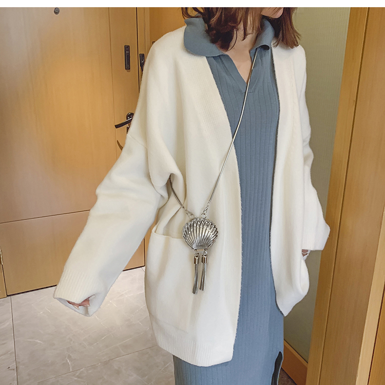 Mini saco de concha 2020 moda nova