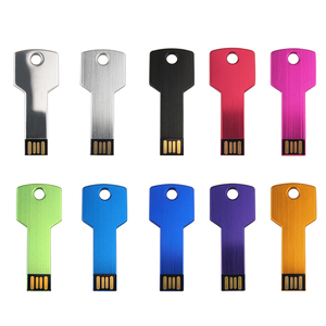 Image 5 - Prawdziwa pojemność metalowy klucz pamięć USB Pendrive 32GB 128MB 1GB 4GB 64GB Pendrive urządzenie pamięci masowej prezenty (ponad 10 sztuk logo za darmo)