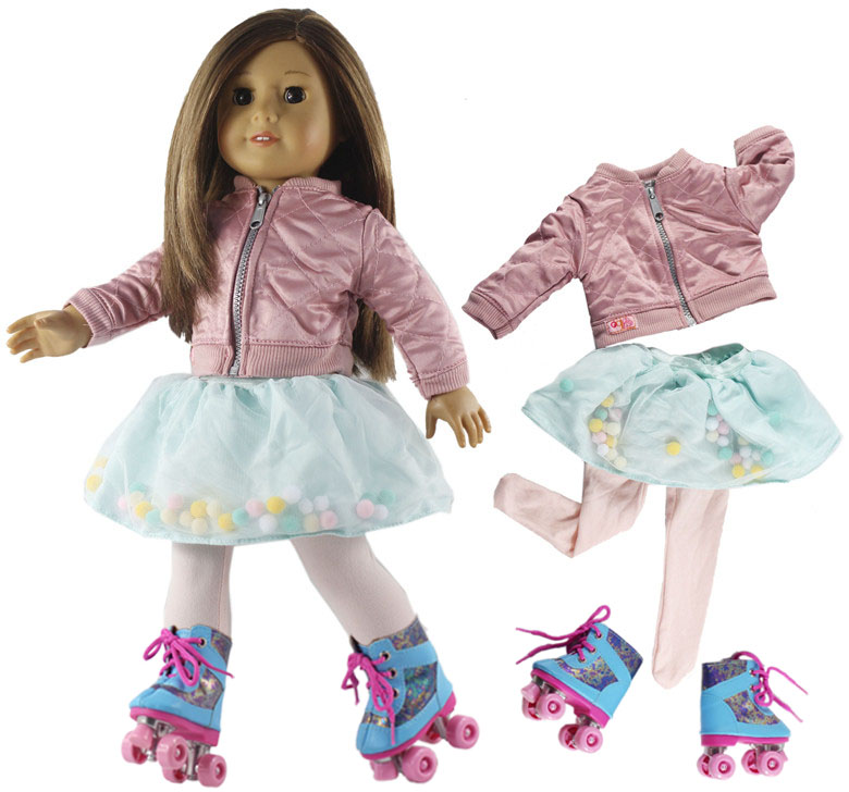 New 18 Inch Doll Clothes Outfit For 18 Inch American Doll Many Style For Choice #32