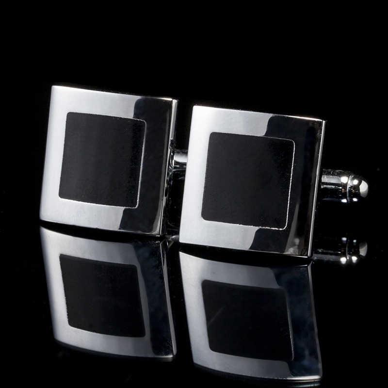 패션 블랙 클래식 프랑스어 커 프 스 단추 남자 비즈니스 정장 셔츠 고품질 커 프 스 단추 결혼식 파티 fspxk35