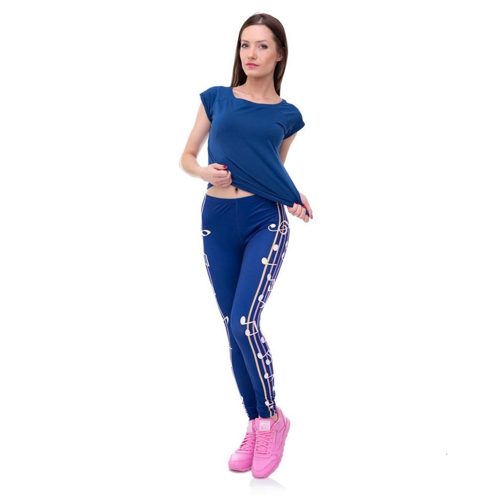 Brands Women Fashion Legging Aztec Round Ombre Printing leggins Slim High Waist  Leggings Woman Pants 57