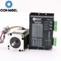 Leadshine 3 Phase Stepper Motor Driver 573S15 3ND583 NEMA 23 for Laser Engraving Cutting Machine Stepper Motor