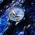 AILANG Лидирующий бренд Роскошные водонепроницаемые спортивные двойные Tourbillon Мужские часы Военные автоматические механические часы мужские ...