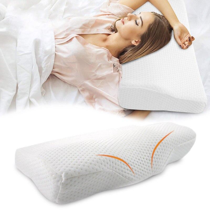 Almohada cervical de viaje con forma de mariposa