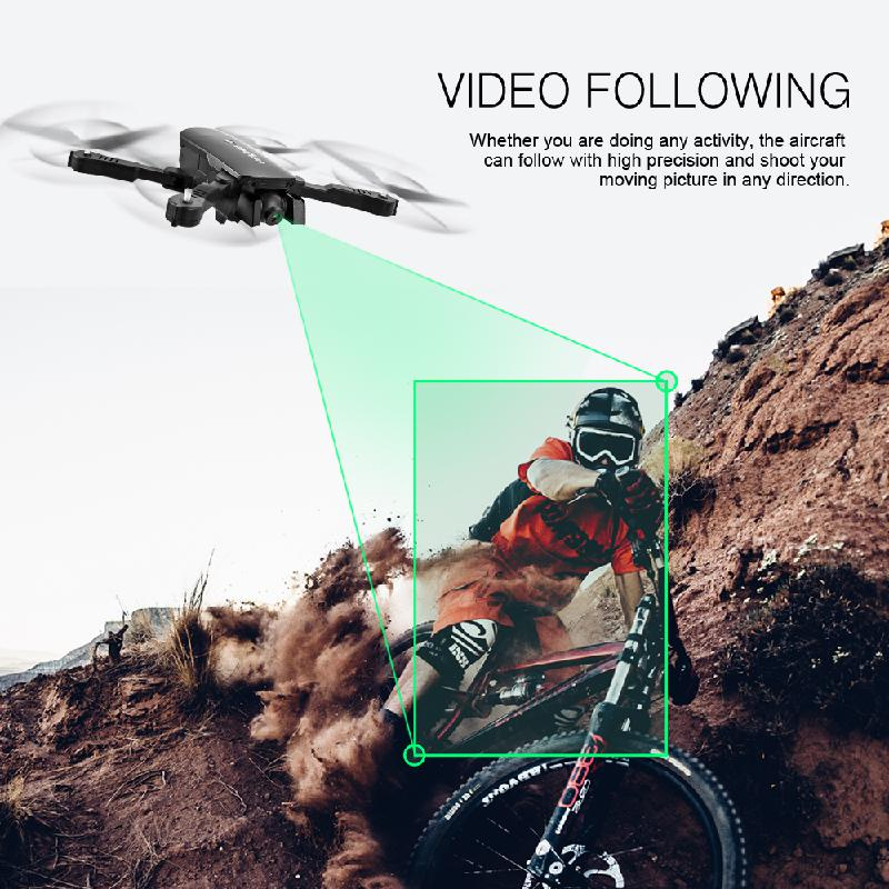 R8 Radio Controlled Drone 4K Optical Flow Positioning GPS FPV Camera HD Brushless RC Helicopter Quadrocopter Drone Camera Toys