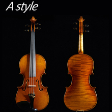 цены Master violin4/4, European wood Copy of Antonio stradivara! free shipping! strings+bridge+bow