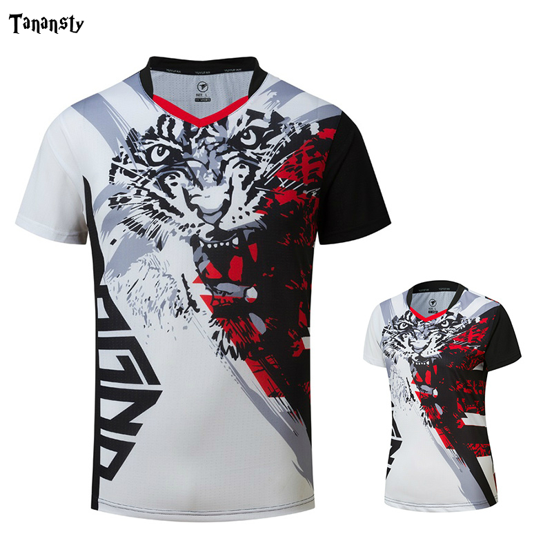 New Tennis Shirt Men Jersey Tennis Women Badminton Shirts Ladies Table Tennis Shirts Running Exercise T-shirts Sportswear 2020
