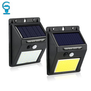 Rechargeable Solar Light 20 30 48 60 96 LED Waterproof PIR Motion Sensor Security Solar Lamp Outdoor Emergency Wall Light 1