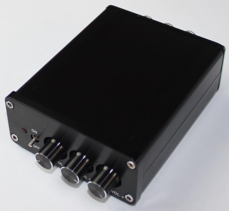 Amp Case Amplifier House Enclosure 108 * 90 * 39MM TPA3116 2.1 Digital Power Amplifier All Aluminum Chassis DIY BOX