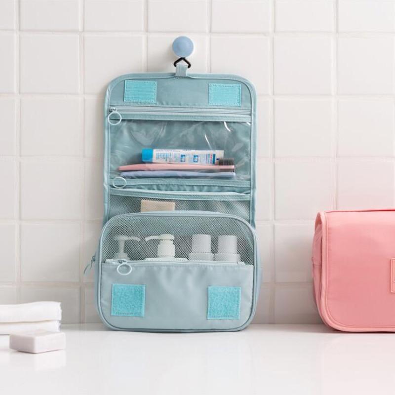 Kit Portable Makeup Kit Wall-Mounted Tool Kit Waterproof Travel Beauty Cosmetic Bag Tool Storage Bag Portable Tool Bag Wash Bag