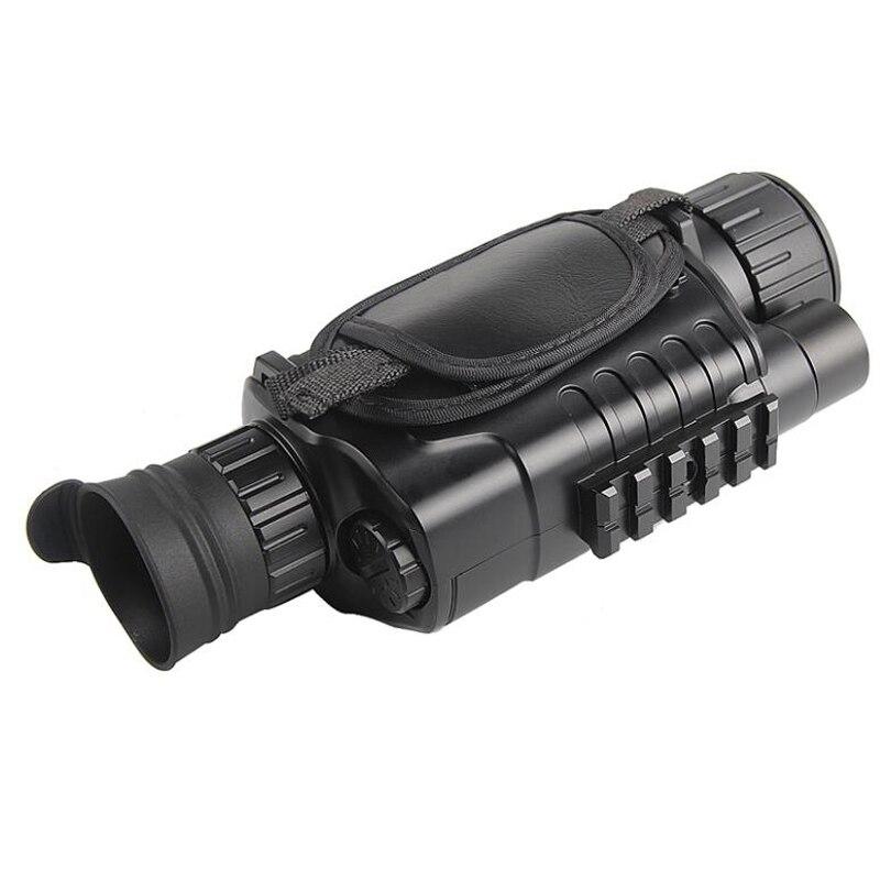 Vision nocturne infrarouge monoculaire 5X40 Zoom lunettes de Vision nocturne 200M Distance Observation nocturne et numérique Ir chasse D - 4